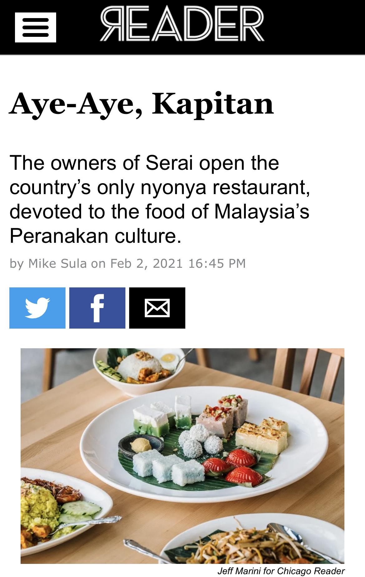 Aye-Aye, Kapitan